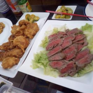 フィリピン ボラカイ 友人宅で美味しいディナー♬