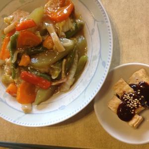 フィリピン プエルトガレラ 八宝菜で野菜補給♡