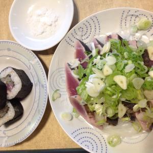 フィリピンプエルトガレラ タタキ〜と巻き寿司〜ふふふ♡