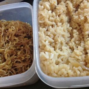 フィリピンプエルトガレラ 炊き込みご飯とモヤシナムルで食べ過ぎた夜♡