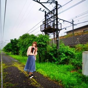 廃線跡歩き(^v^)♪