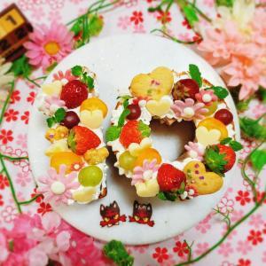 【10th入籍記念日*錫婚式~ナンバーケーキ&ホイル包み焼きハンバーグディナー*】