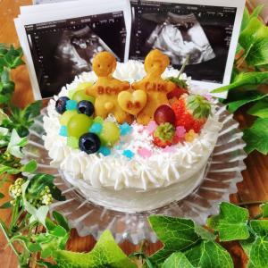 ◎妊娠6ヶ月~ジェンダーリビールケーキ◎