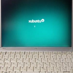 xubuntuをためす。(CF-T7)