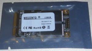 mSATAのSSDが到着。(WEIJINTO SSD 128GB)
