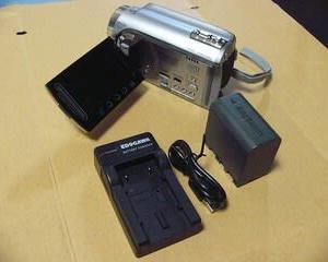 ビデオカメラを入手。(Victor GZ-HD300)