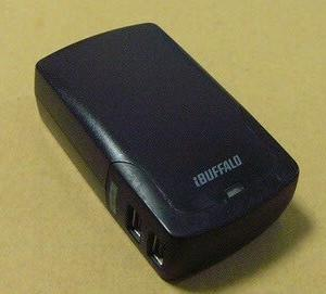 USB4ポート充電器。(iBUFFALO BSMPBAC02)