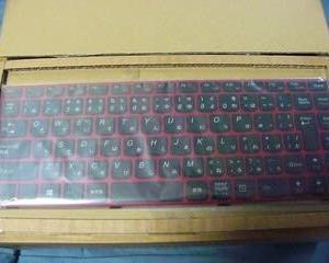キーボードの交換。(lenovo ideapad Z480)