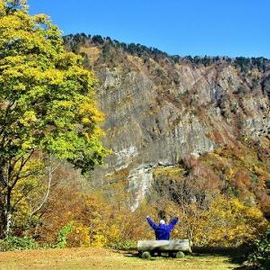 糸魚川ジオパーク 海谷三渓パーク紅葉