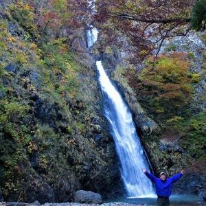 糸魚川ジオパーク 不動滝