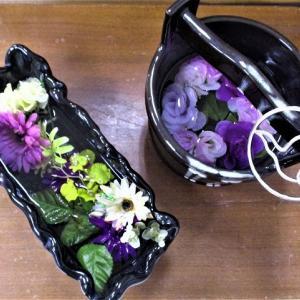 花ロードお水鉢プロジェクト始まる