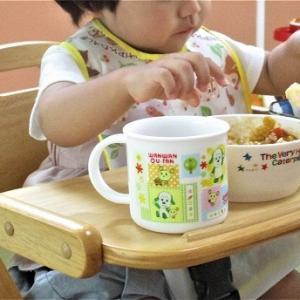 孫 葵 昼 出すと自分で手とスプーンを使って食べ始めた