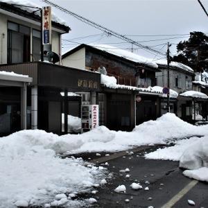 上越市旧高田いっせい雪降し北本町