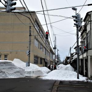 上越市旧高田いっせい雪降ろし大町34