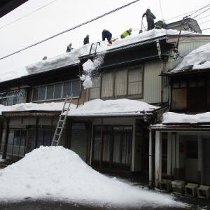上越市旧高田いっせい雪降ろし本町2