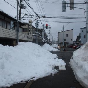 上越市旧高田いっせい雪降ろし南本町