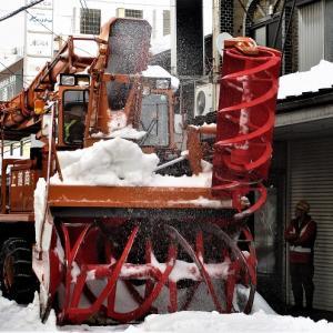上越市高田仲町5排雪