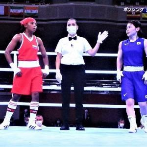 8/1東京オリンピック ボクシング女子フライ級 並木選手また勝