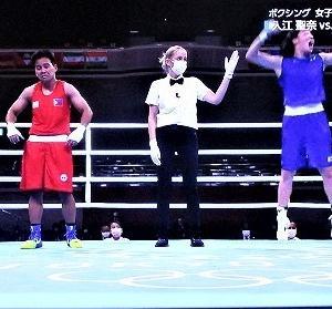 8/3東京オリンピック ボクシング女子フェザー級 入江選手金へダル