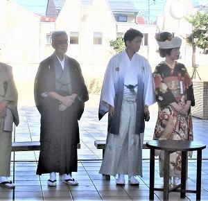 お馬出し一座 昭和の結婚式