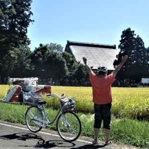 9/21寺町 田んぼ稲刈り