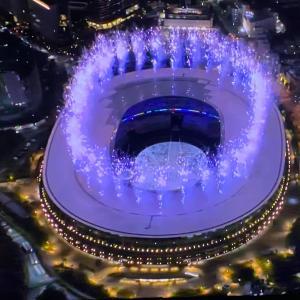 東京オリンピック・パラリンピック開会式 ドローン最高❗️