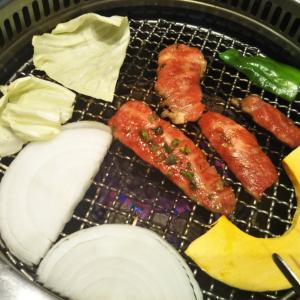 休日~夜は焼き肉♪