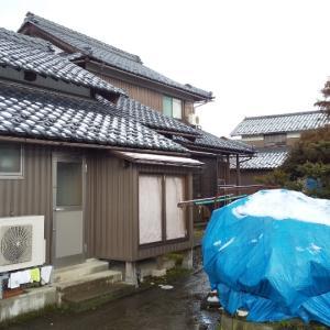 雪、冬の日本海
