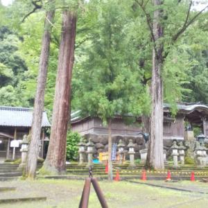 和紙の神、岡太神社