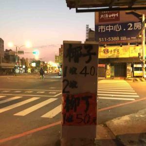 台湾出張の朝
