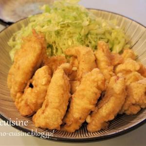 鶏むね肉でサクッと簡単☆とり天☆