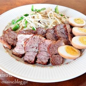 豚肩ロース肉で簡単に☆チャーシュー煮豚☆