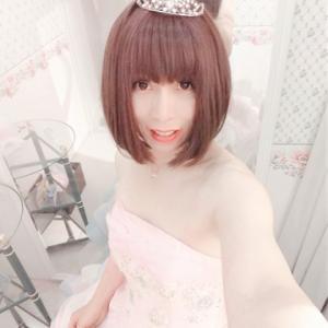 jun in a colorful dress