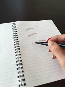眉毛を描くのが苦手な人のトレーニング法はこれっ!!