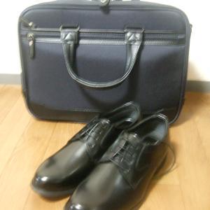新しい、靴と鞄