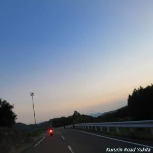 8月ラストツーリング③塩気と夜の峠道