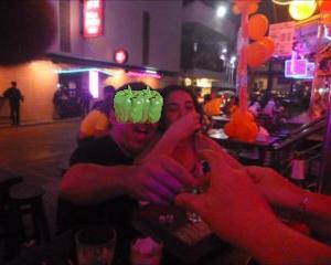 中国からの社員旅行プーケット夜遊びは今夜だけ2時間 日程がギュウギュウの2泊3日で大変です。