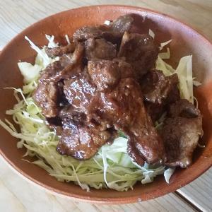 猪肉の生姜焼丼