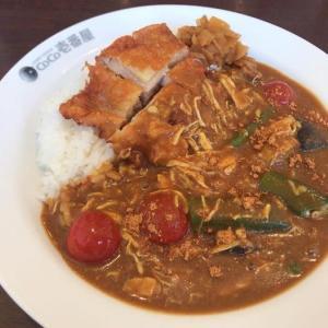 チキンと夏野菜カレー -ひさびさココイチ40-