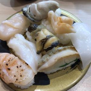 """""""貝三昧"""" 貝のお寿司を堪能"""