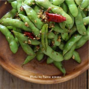 秋だって旬❗️やめられない止まらないクミン枝豆