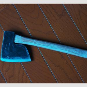 斧の柄の仕込み