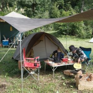 近場のキャンプ場で