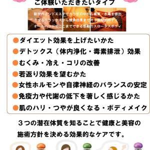 ●潜在体質別☆こんなかたへおすすめ☆スロータスボディオイル3タイプ