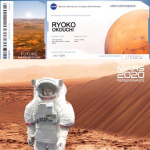 火星へ...