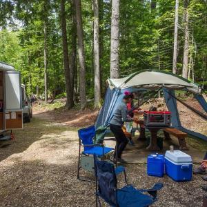 McDonald 州立公園キャンプ
