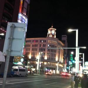 東京へ行く7/銀座