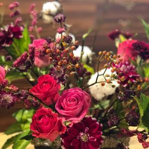 ♡お花は色の効果を取り入れて飾ってね♡