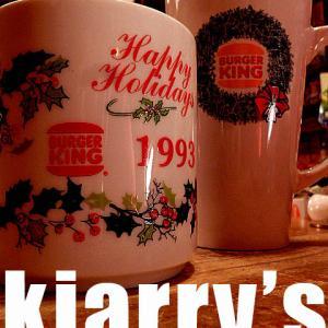 Burger King Happy Holiday Mug !!