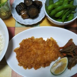 カリカリチキンと素麺♪
